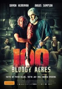 100 bloody acres plakat