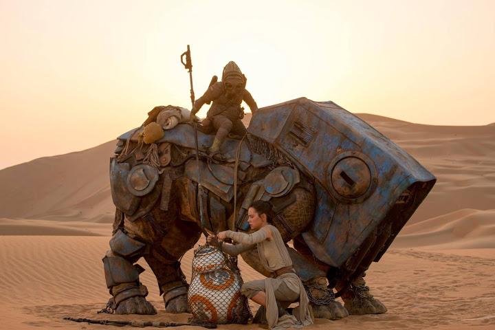 star wars the force awakens daisy ridley