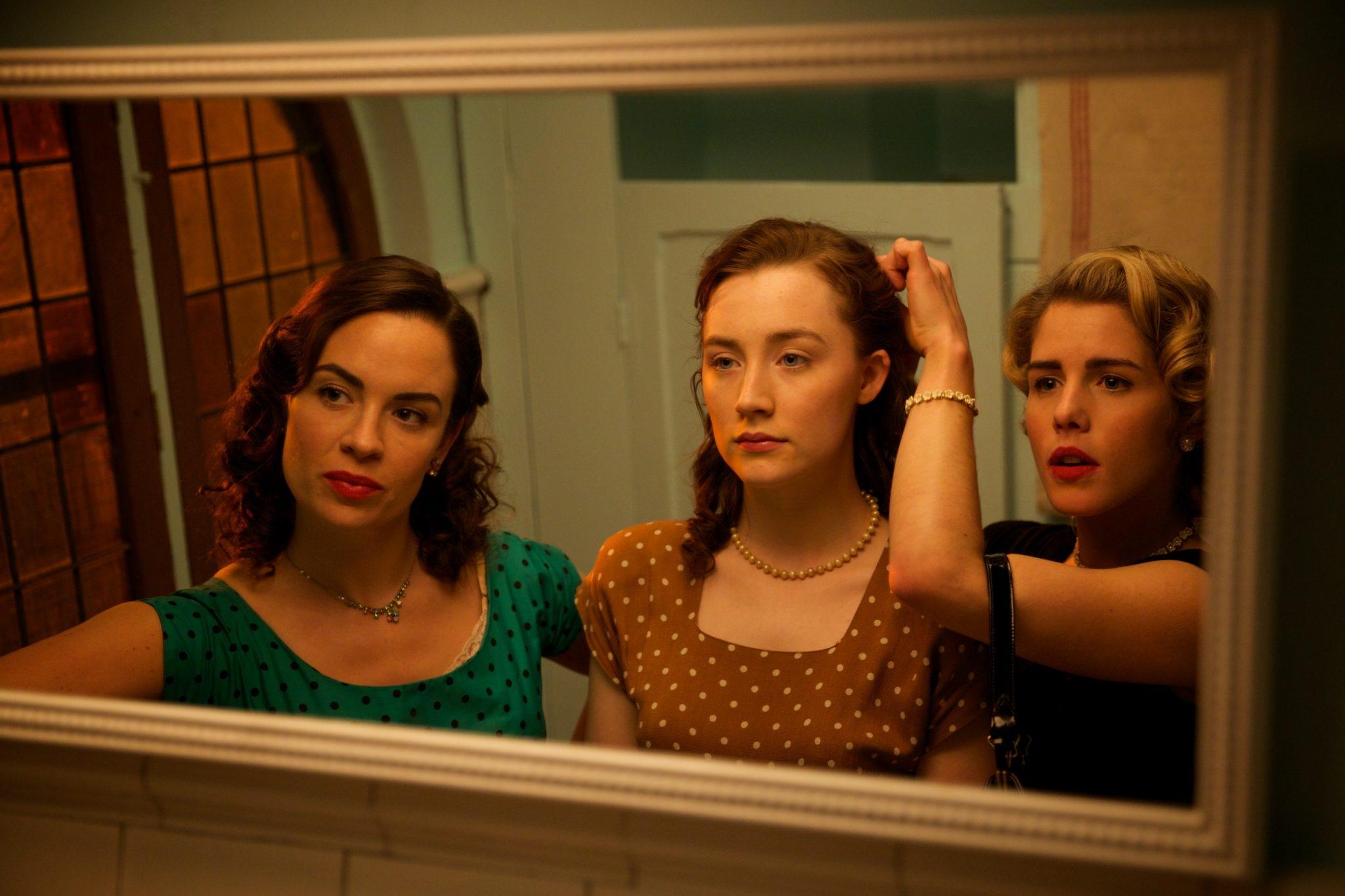 Eve Macklin, Saoirse Ronan, Emily Bett Rickards - BROOKLYN