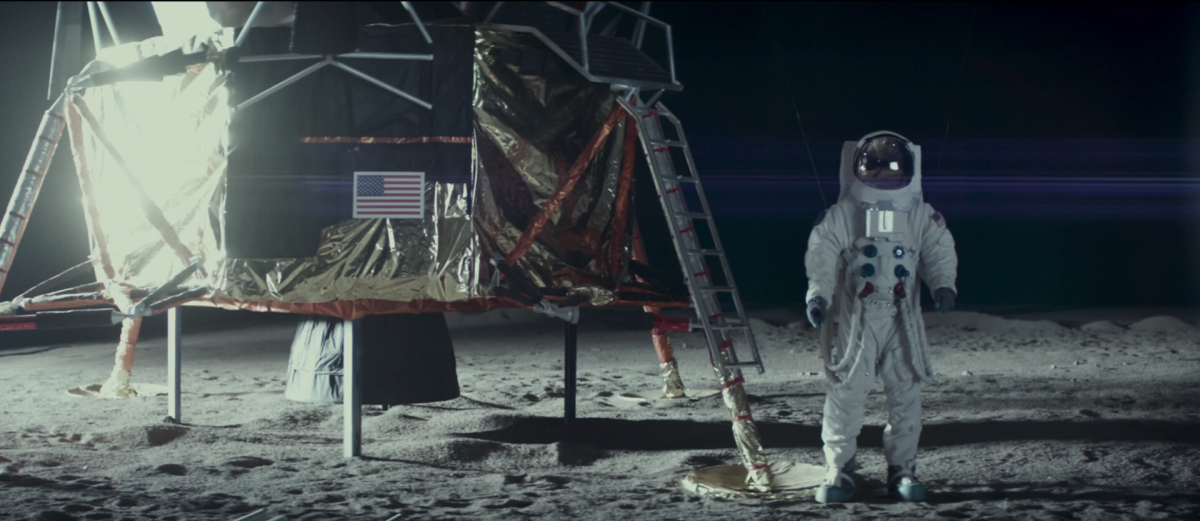 moonwalkers on the moon